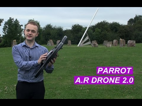 Review and test run of the Parrot AR Drone 2.0