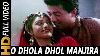O Dhola Dhol Manjira Baje   Suresh Wadkar, Asha Bhosle   Joshilaay 1989 Songs   Sridevi, Meenaksi