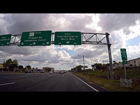 Driving from Universal Orlando Resort to The Orlando Eye on International Drive | 2015 Florida