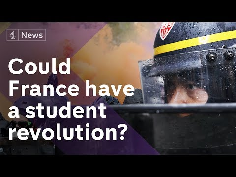 Are anti-Macron protests in France the start of a student revolution?