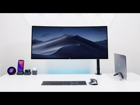 Apple Desk Setup Tour 2018 - Going ULTRAWIDE!