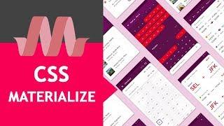 Materialize Css 😃 Material Design Framework [curso Tutorial Español]