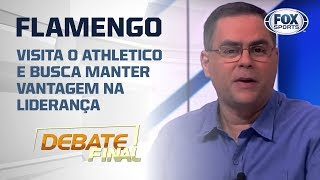 TEM FAVORITO? Partida entre Athletico-PR e Flamengo é assunto no Debate Final