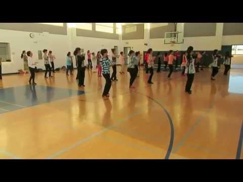Class Video 喜歡你 8/272015 San Francisco Chinese Line Dance 三藩市鳳凰飛健舞社