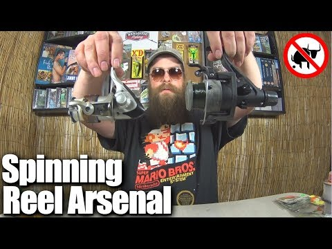 Realistic Fishing Spinning Reel Arsenal - Affordable Fishing Reels