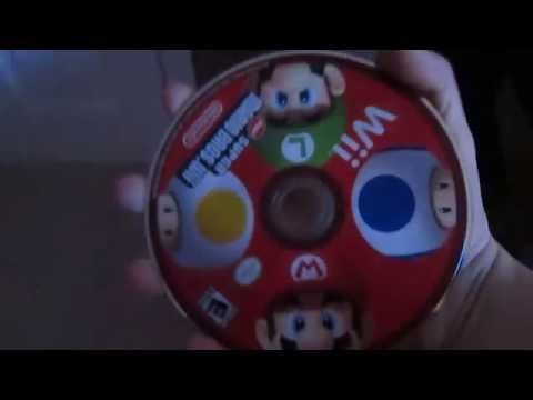 Putting toothpaste on a game disc does NOT WORK!