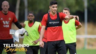 Raúl Jiménez ya reportó con su nuevo club en la Premier League   Premier League   Telemundo Deportes