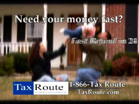 TaxRoute - Fast Refunds.WMV