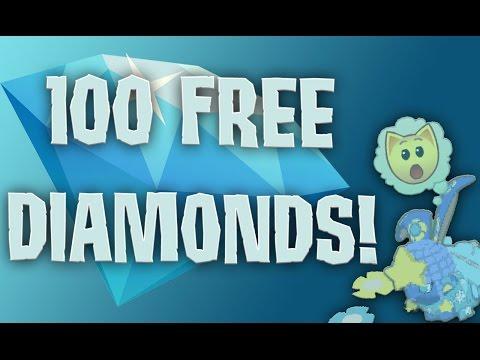 INSANE ANIMAL JAM GLITCH! 100 FREE DIAMONDS
