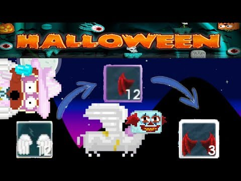 Dropping 12 Angels in Growganoth! Growganoth Scammed Me! How to Get Rich In Halloween!   Growtopia