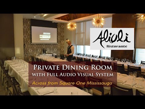 Alioli - Private Dining Room - Mississauga Italian Restaurant