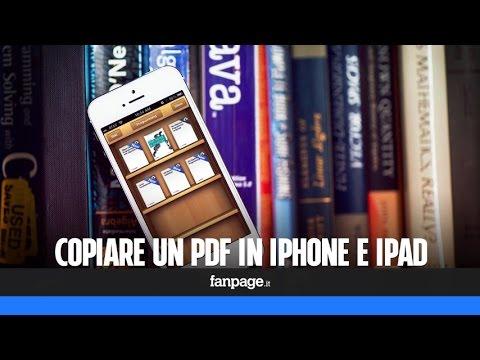 Come copiare o salvare un PDF in iPhone e iPad