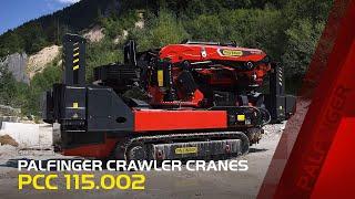 PALFINGER Crawler Cranes - PCC 115.002
