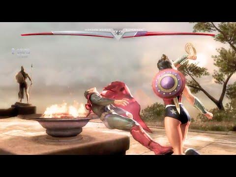 Wonder Woman vs Superman - Injustice Gods Among Us