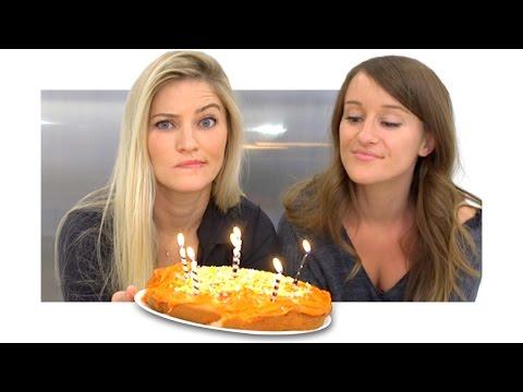 How to make a birthday cake! | iJustine