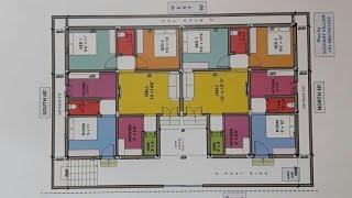 40 X 60 (35 X 55 ) East Face House Map Naksha Plan 3GP MP4 HD Video ...
