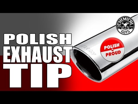 How To Clean And Polish Exhaust Tips - Chemical Guys Heavy Metal Polish