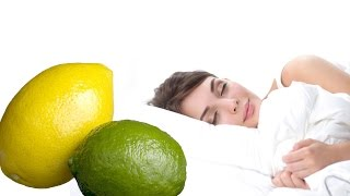 Put a LEMON under your BED, SEE WHAT HAPPENS..I was Surprised