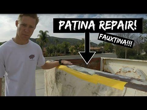 Fauxtina Paint Job! Patina Repair (PART 1)