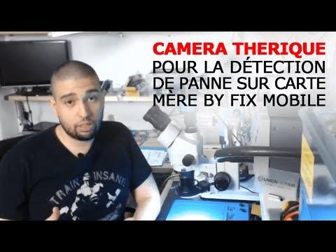 1 Outils Camera thermique pour la détection de panne sur carte mère from Fix Mobile