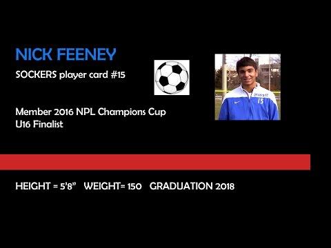 Soccer Recruitment Video - Nick Feeney
