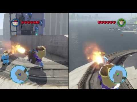 LEGO Marvel Super Heroes - Rescue at the Toxic Plant