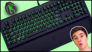 Razer BlackWidow Chroma V2 Review | Green Switch Comparison