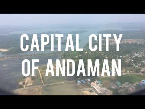 Amazing view and flight landing at Port Blair, Andaman & Nicobar Islands