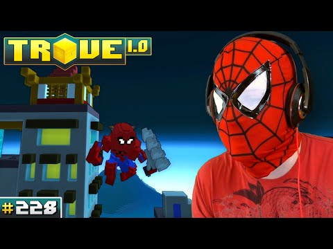 Scythe Plays Trove ✪ SPIDER-MAN COSTUME!! ● Let's Play Multiplayer Gameplay #228