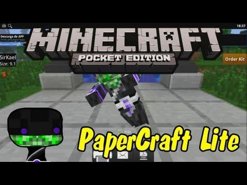 PaperCraft Lite (Minecraft PE) (Para todas las versiones de Android)