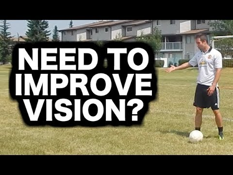 Football intelligence training | How to improve vision in soccer | Have good vision in football