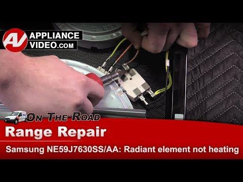 Samsung Range / Oven -  Dual Radiant Element - Diagnostic & Repair