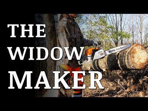 Removing Dangerous Widow Makers Off Grid