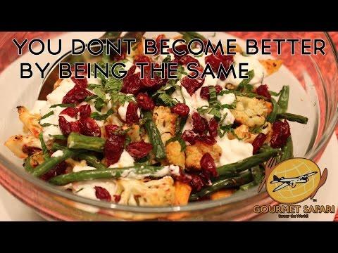 Roasted Cumin Seed Cauliflower, Sweet Potatoes & Beans   Gourmet Safari
