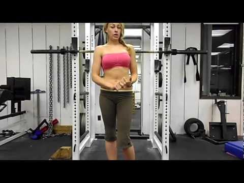 How to Squat Properly *BEST DEMO* Squat properly how to