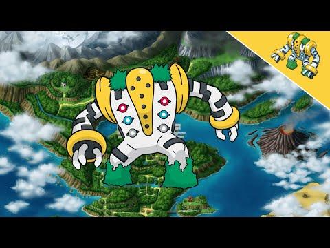 Pokemon Ranger: Sombras de Almia - Trío Regis y Regigigas