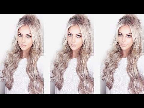 How I Clip in/Style Hair Extensions ft. FoxyLocks   Chloe Boucher