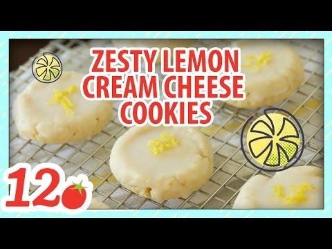 Lemon Cream Cheese Cookies Recipe
