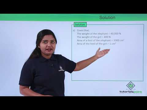 Class 9th Physics - GRAVITATION - Thrust and pressure problem 1