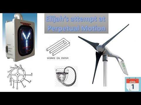 Elijah's Perpetual Motion Machine