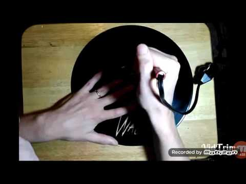 How To Carve Vinyl Records Into Art