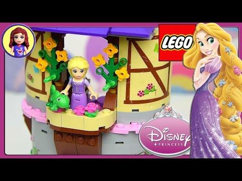 Rapunzel's Creativity Tower Lego Disney Princess Build and Play - Kids Toys
