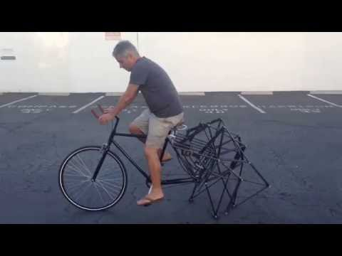 Riding the Strandbeest Bike