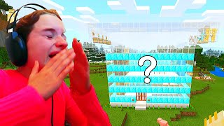 *Sabre Cried* WHO BUILDS THE BEST MYSTERY HOUSE Minecraft Gaming w/ The Norris Nuts