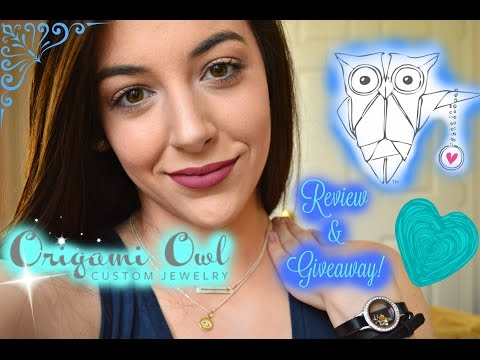 ♡ Origami Owl Jewelry | Review + GIVEAWAY! {OPEN} ♡