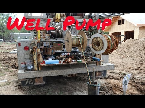 (Pt.1) How To Install a Submersible Pump and Water Line.