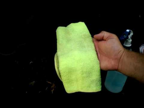How to Clean a headliner
