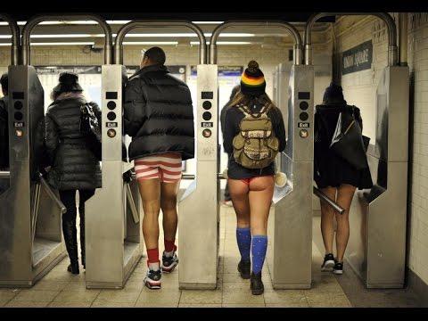 Subway Metro New York JFK Airtrain - 100 Years Old Railway *HD*