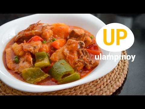 How to Cook CHICKEN AFRITADA  — Ulam Pinoy #38