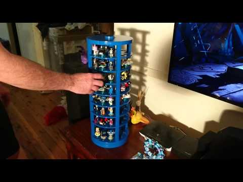 Lego Dimensions storage and display carousel